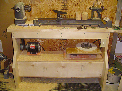 plans for wood lathe stand